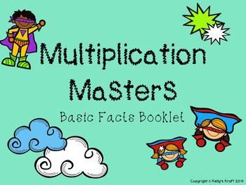 Multiplication Masters: Basic Fact Booklet