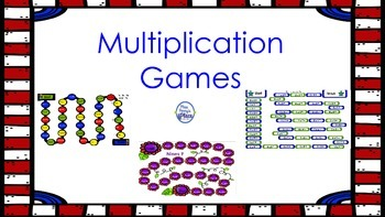 Multiplication Mastery Games