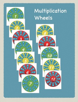 Multiplication Mastery Wheels