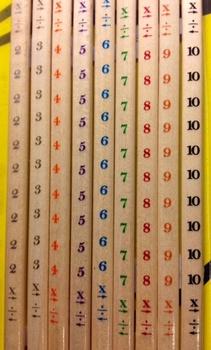 Multiplication Pencils