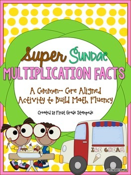 Multiplication Math Facts Fluency