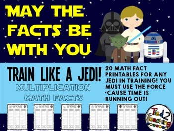 Multiplication Math Facts (Star Wars Inspired)