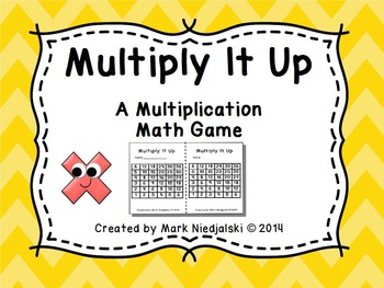 Multiplication Math Game: Multiply It Up