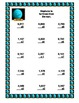 Multiplication Math Review Worksheets Grades 4-5 Solar Sys