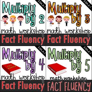 Multiplication Math Workshop Kits