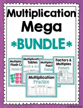 Multiplication Mega Bundle