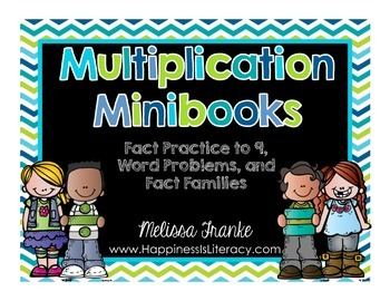 Multiplication Minibooks: Fact Practice to 9, Word Problem