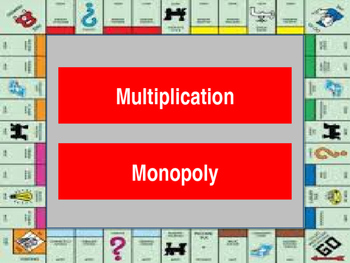 Multiplication Monopoly Game