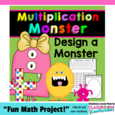 Multiplication Activity: Monster