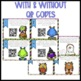 Multiplication Monster Task Cards {With and Without QR Codes}