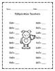 Multiplication Monster (Valentine's Day)