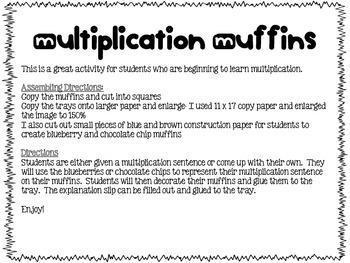 Multiplication Muffins