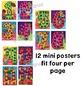 Multiplication Multiples Number Posters Superhero Theme