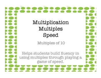 Multiplication Multiples of 10