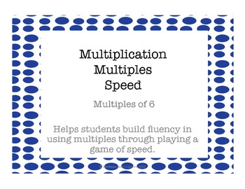 Multiplication Multiples of 6