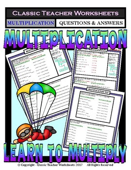 Multiplication - Multiply Using Repeated Addition - Grades