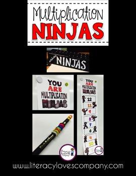 Multiplication Ninja Poster