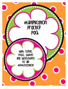 Multiplication Pack