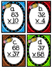 Multiplication Scoot and Worksheets