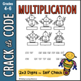 Multiplication Practice Activity: 2-digits by 3-digits ~ C