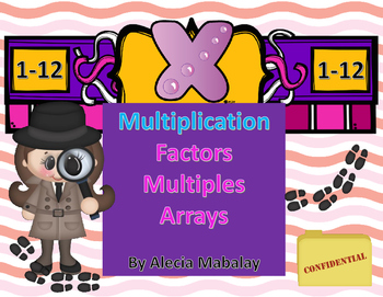 Multiplication Practice with: Factors, Arrays and Multiples