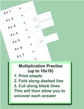 Multiplication Practise