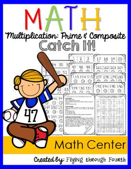 Multiplication: Prime & Composite {Catch It! Math Center G