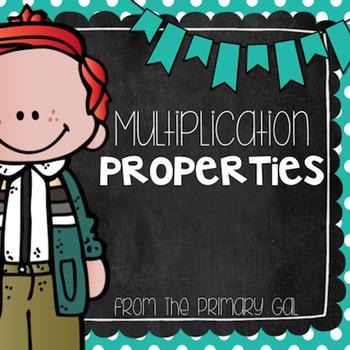 Multiplication Properties {FREEBIE!}