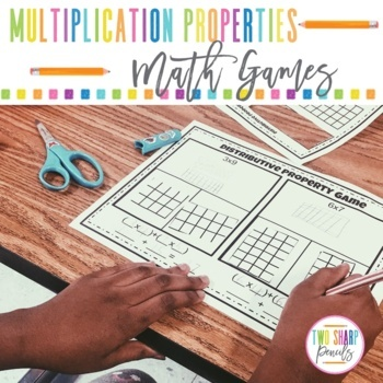Properties of Multiplication Math Games