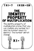 Multiplication Properties Posters