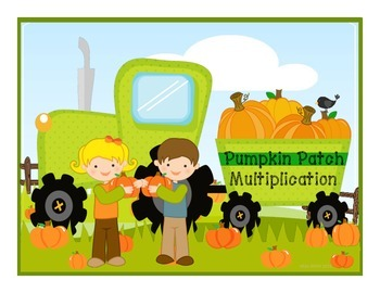 Halloween Math } Hayride Multiplication!