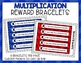 Multiplication Fact Punch Cards, Certificates, Reward Brac