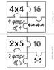 Multiplication Puzzle Center