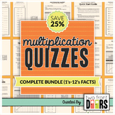 Multiplication Quiz (1's - 12's Facts)