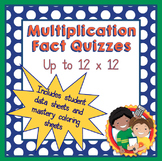 Multiplication Fact Quizzes