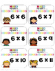 -FREEBIE-Multiplication Review Find a Fact Friend (Editable)