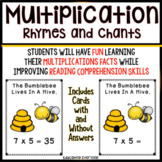 Multiplication Rhymes and Chants