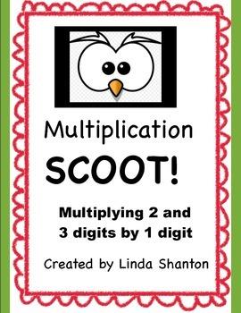 Multiplication Scoot!
