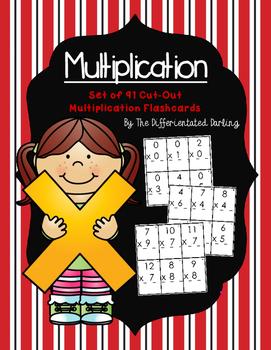 Multiplication Set of 91 Flashcards