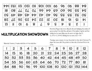 Multiplication Showdown