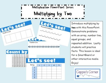 Multiplication Skills PowerPoint - Multiplying by Two