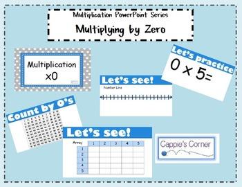 Multiplication Skills PowerPoint - Multiplying by Zero