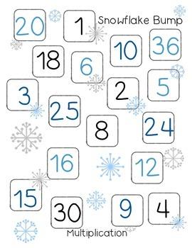 Multiplication Snowflake Bump