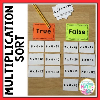 Multiplication Sort Game