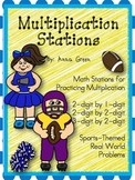 Multiplication Stations - Math Centers