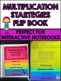 Multiplication Strategies Flip Book for Interactive Notebooks