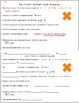 Multiplication Strategies Vocabulary Worksheets and Assessments