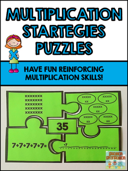 Multiplication Strategy Puzzles