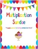 Multiplication Sundae Unit