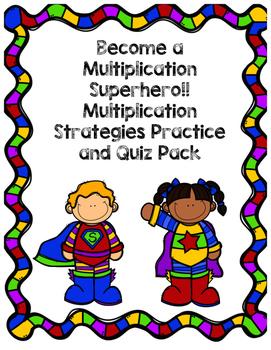 Multiplication Superhero Pack